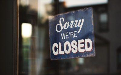 1 listopada – zamknięte
